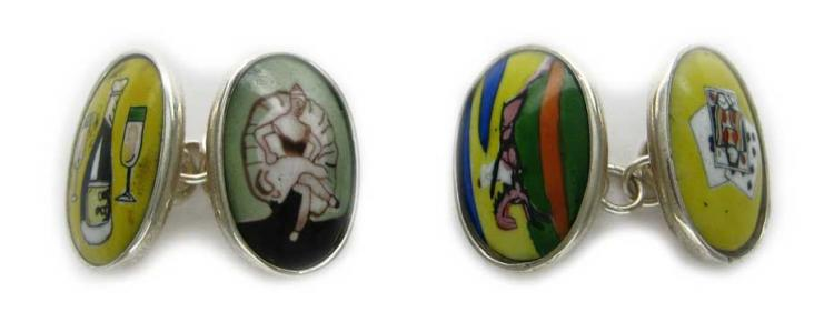 Four Vices Cufflinks