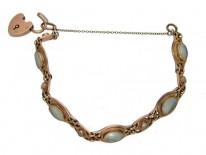 Art Nouveau Blister Pearl Bracelet
