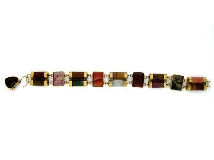 9ct Gold Scottish Bracelet