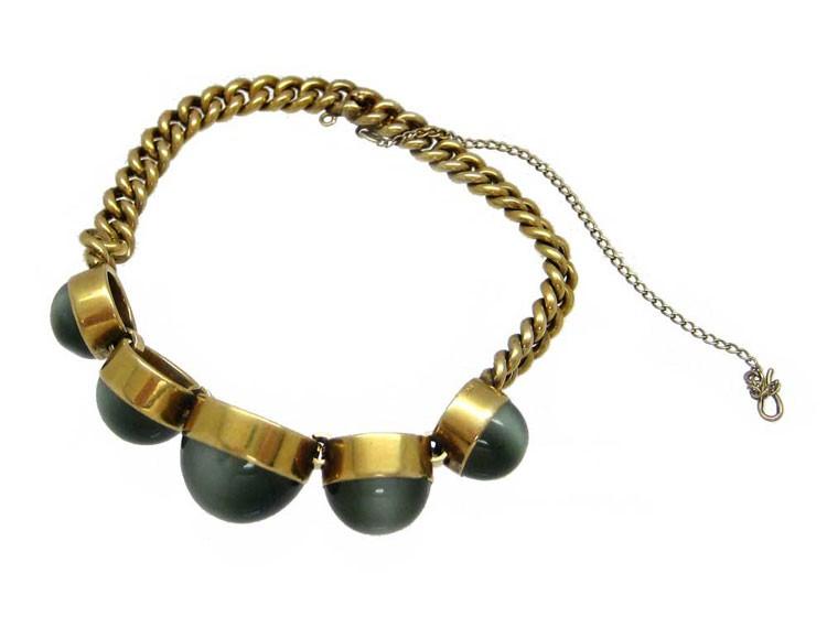 18ct Gold Cats Eye Bracelet