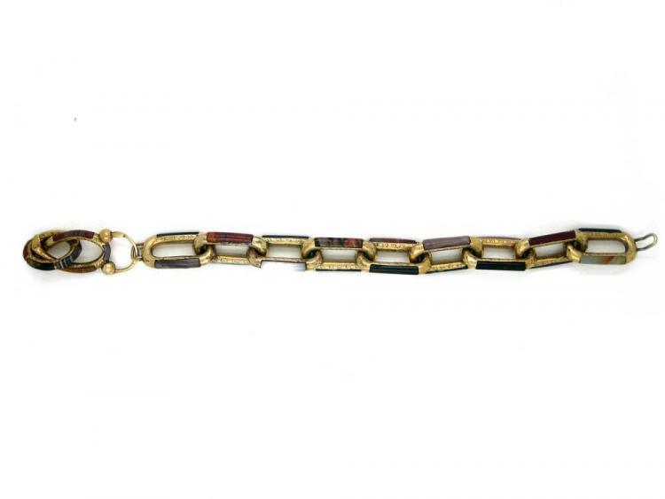 9ct Gold Scottish Links Bracelet