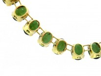 18ct Gold & Tourmaline Necklace