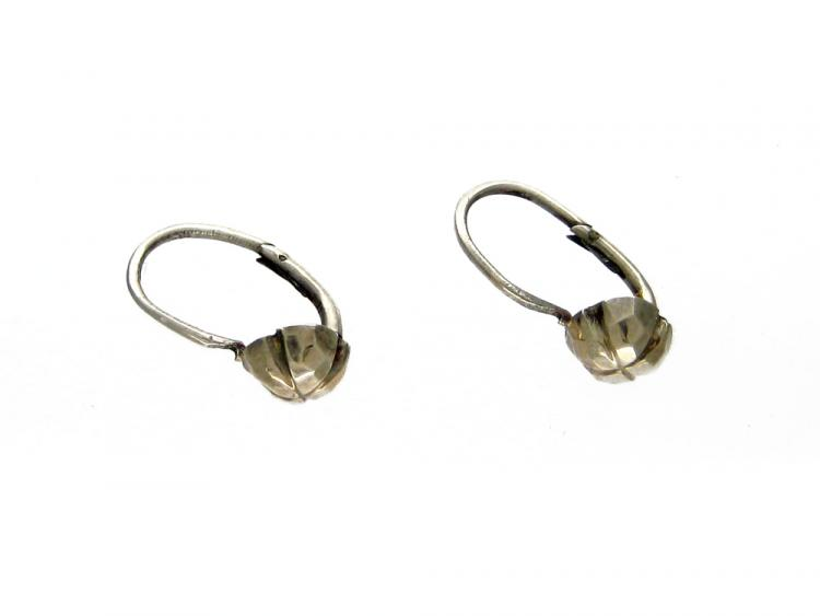 9ct Gold Four Leaf Earrings