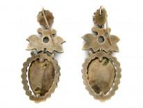 Elaborate Garnet Earrings