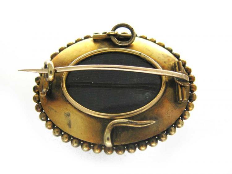 18ct Gold, Turquoise & Diamond Brooch