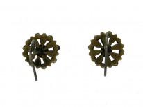 Vauxhall Glass Flower Earrings