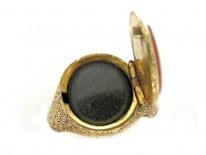 Carnelian Opening Signet Ring