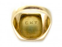 Tiffany & Co. 14ct Gold Crested Ring