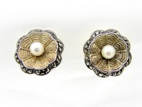 Theodor Fahrner Silver Earrings