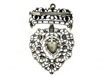 18th Century Rose Diamond Pendant