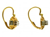 18ct French Earrings