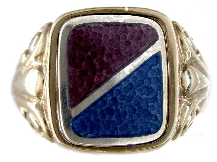 Swivel Enamel Ring