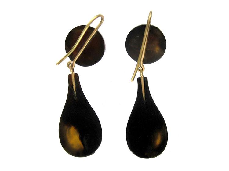 Tortoishelle Pique Earrings