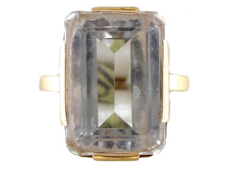 Rock Crystal Ring