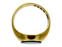 Bloodstone Signet Ring