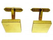 Cartier 18ct Gold Cufflinks