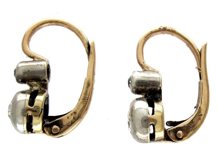 Art Deco Diamond Earrings