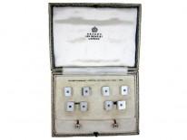 Asprey Cufflinks, Buttons & Collar Studs