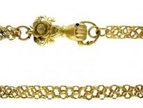 Georgian 18ct Gold Guard Chain