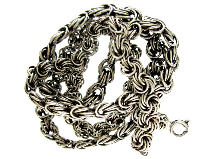 Silver Knot Chain