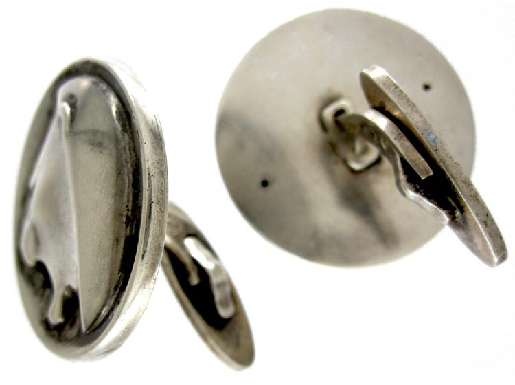 Georg Jensen Silver Cufflinks