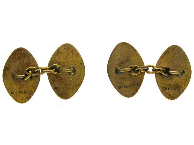 Rolled Gold Cufflinks