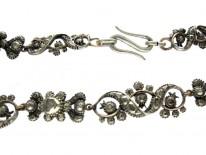 Georgian Rose Diamond Necklace