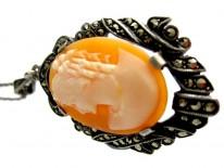 Cameo Shell Pendant