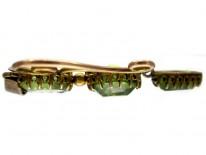 Peridot 9ct Gold Pendant