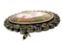 Enamel Miniature Brooch