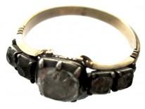 Georgian Paste Gold Ring