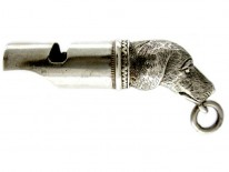 Silver Dog Whistle