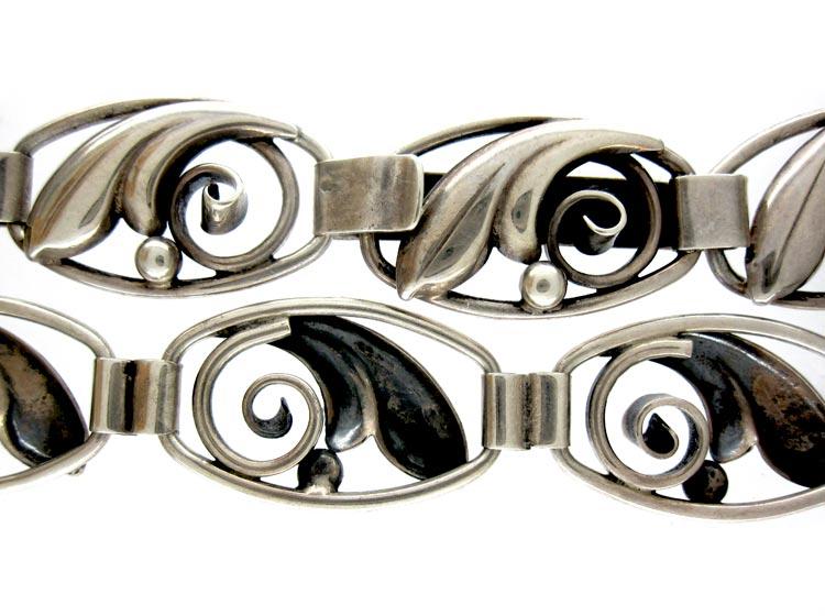 Silver Scandinavian Necklace