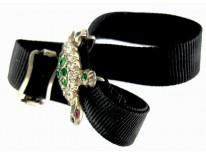 Paste Silver Tortoise Slide Bracelet