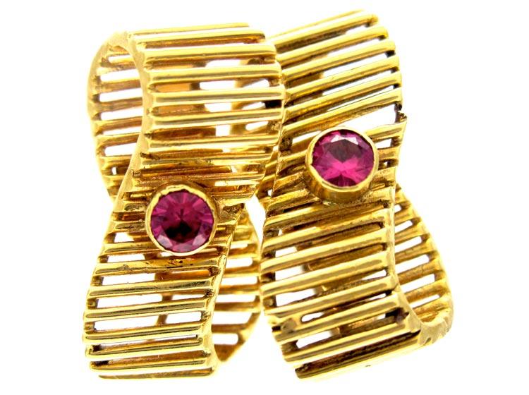 Kutchinksy Ruby 18ct Gold Cufflinks