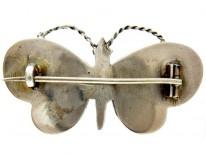 Scottish Silver Butterfly Brooch