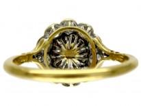 Diamond & Natural Pearl Ring