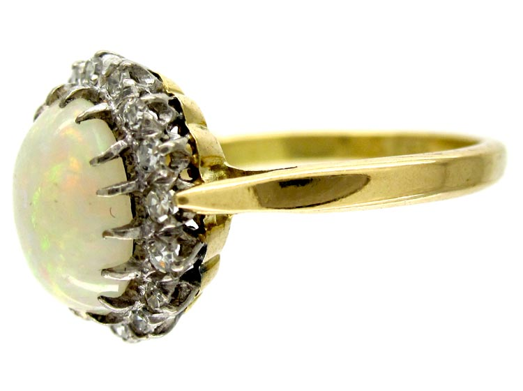 Opal Diamond Dress Ring
