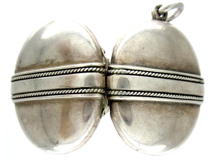 Silver Victorian Locket