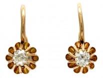 Diamond 18ct Gold Earrings