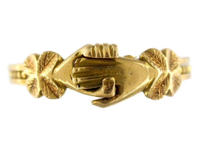 Georgian Fede Gimmel Ring