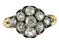 Regency Diamond Cluster Ring