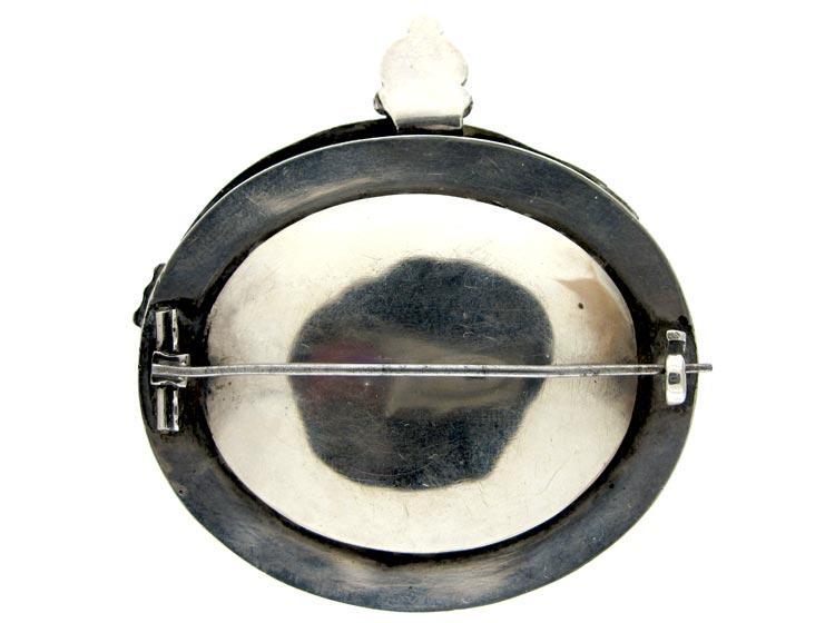 Scottish Dog Garter Brooch