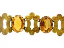 15ct Gold & Citrine Bracelet