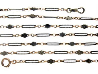 Silver Niello Guard Chain