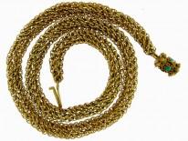 Georgian Woven 18ct Gold Chain