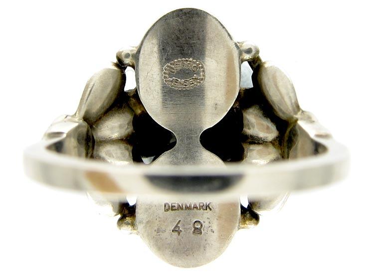 Georg Jensen Moonstone Silver Ring