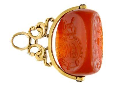 Triple Sided Georgian Gold Seal