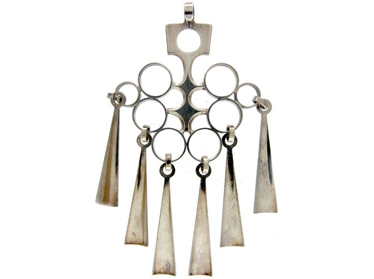 David Andersen Silver Pendant