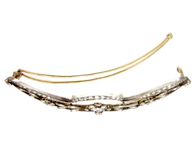 Edwardian Diamond Hair Clip